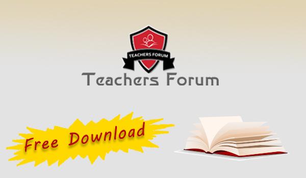 Downloads – Teachers Forum Books